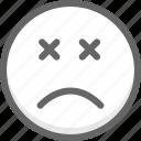 emoji, emotion, face, no, smile, smiley, wrong icon