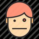 avatar, dazed, emotion, face, profile icon