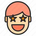 avatar, emotion, face, profile, win icon