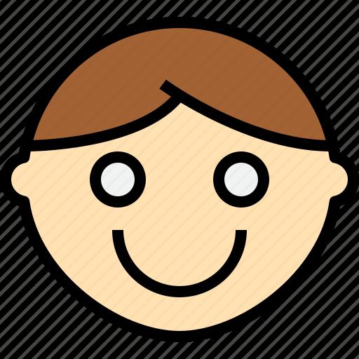 emotion, face, smile, status icon