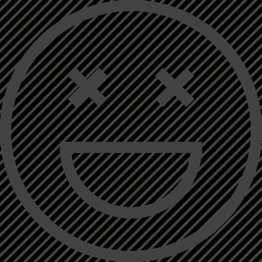 drunk, emoji, emoticon, emotion, face icon