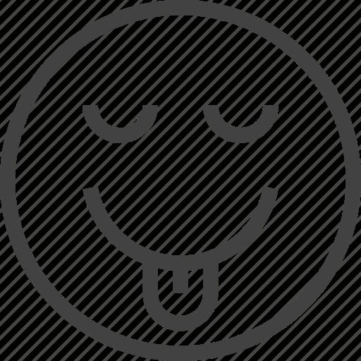 avatar, emoji, emoticon, emotion, face, kidding icon