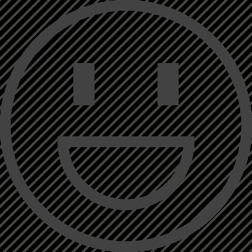 emoji, emoticon, emotion, face, joy icon