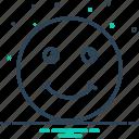 deride, grin, jest, smile icon