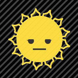 emojis, emoticons, star, stars, sun, suns, weather icon