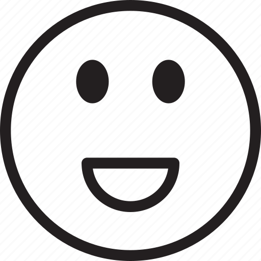 emoji, emotions, laugh, louder, smiley icon
