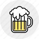 alcohol, beer, craft, drink, mug, pint icon