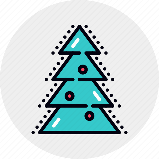 Celebration, christmas, evergreen, holiday, new, tree, year icon - Download on Iconfinder