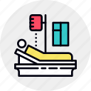 ambulance, bed, clinic, hospital, illness, patient, sick icon