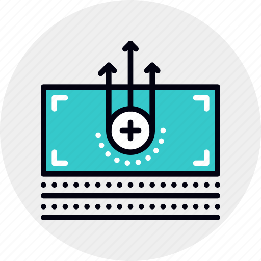 Earnings, income, money, pay, premium, raise, salary icon - Download on Iconfinder