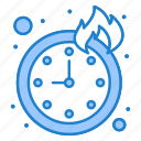 deadline, time, timepiece icon