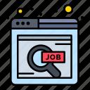 find, job, online, search