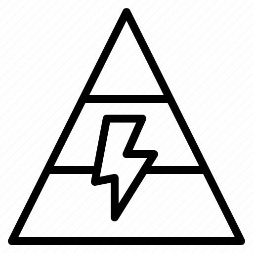 energy  graph  model  pyramid  use icon