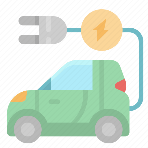 car, charge, electric, electrical, technology icon