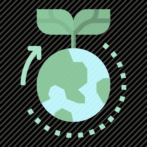 ecology, energy, green, sustainability, world icon
