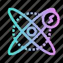 chemical, ecology, energy, physic, power icon