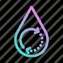 drop, ecology, energy, renewable, water icon