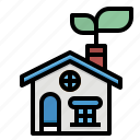 environment, house, energy, ecology, green icon