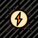 energy, panel, power, renewable, solar icon