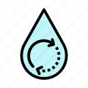 drop, ecology, energy, renewable, water icon