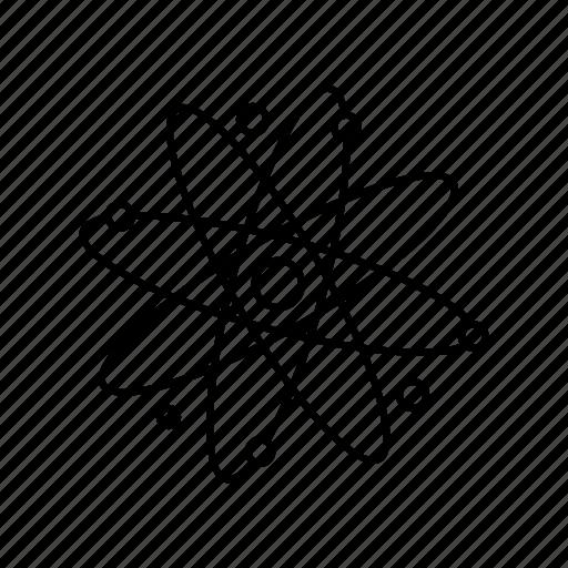 atom, energy, power icon