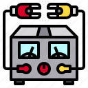 battery, electric, energy, meter, power icon