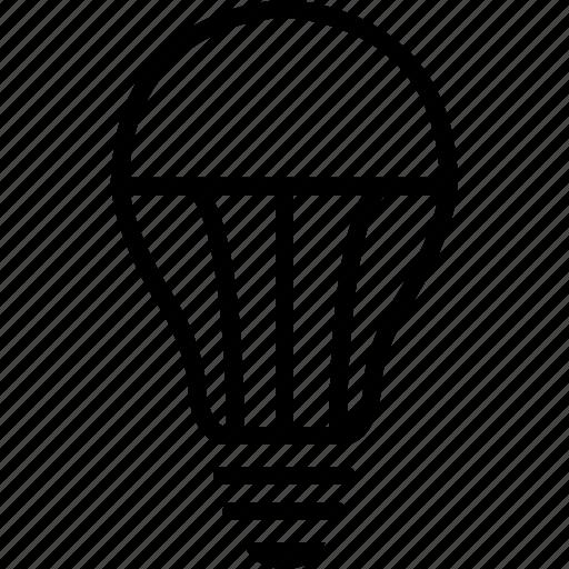 bulb, energy, lamp, led, light, lighting equipment, saver icon