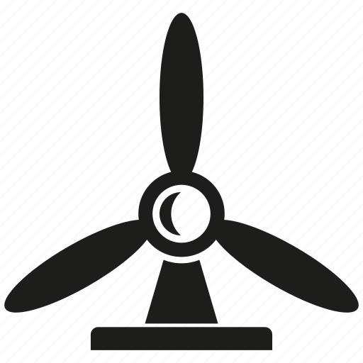 energy, turbine, wind, wind turbine icon