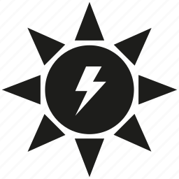 energy, solar, sun icon