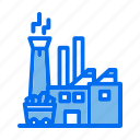 coal, coal factory, construction and tools, ecology and environment, energy, mine icon