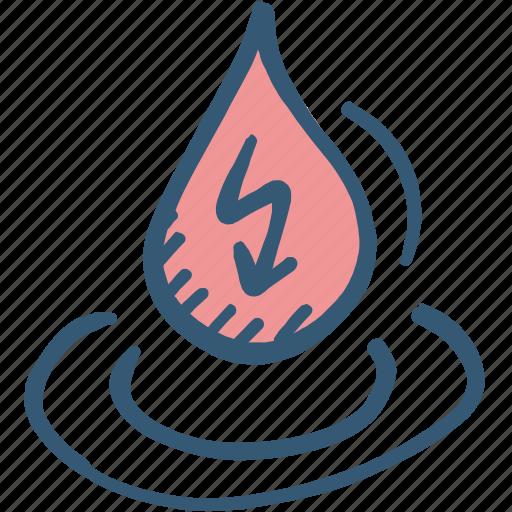 energy, hydro energy, molecule, purification, water energy, water icon icon