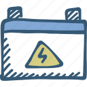 accumulator, battery, car battery, electric, power icon