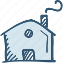 apartment icon, building, home, house