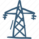 electrical, energy, tower, transmission icon icon