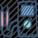 electricity, meter, multi meter, volt meter icon icon