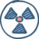 atom, energy, nuclear, power, science icon icon