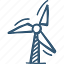 energy, mill, power plant icon, windmill icon