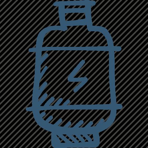 cylinder, gas, kitchen icon, tank icon