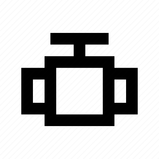 drain valve, faucet, oil valve, pipe valve, tap icon