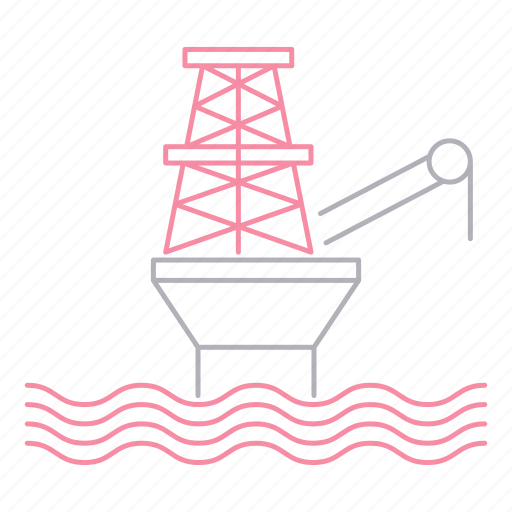 energy, extraction, fossil, fuel, gas, industrial, industry icon