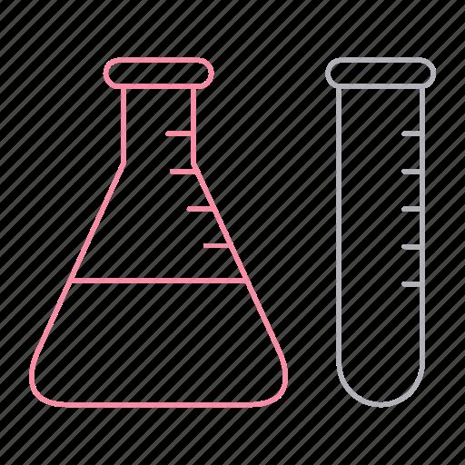 energy, gasoline, lab, petrol, tests, tube icon