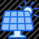 energy, electricity, power, solar, panel, force, sun