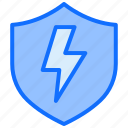 energy, electricity, power, safety, thunderbolt, shield, protect