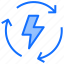 energy, electricity, power, light, thunder, bolt