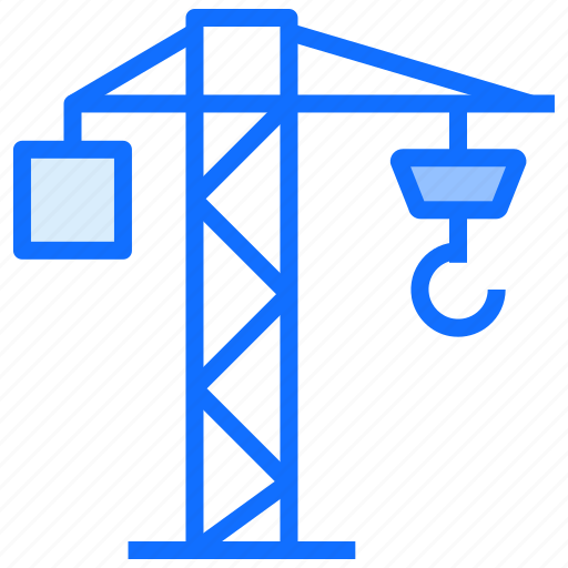 Crane, industry, hook, construction, engineer icon - Download on Iconfinder