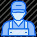 technician, worker, avatar, farmer