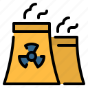 chimney, ecology, energy, nuclear, nuclear energy, nuclear plant, power plant