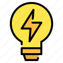 bulb, ecology, electricity, energy, idea, light, light bulb
