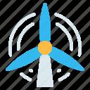 ecology, energy, turbine, wind, wind energy, wind turbine, windmill icon