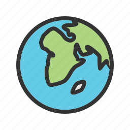 earth, globe, map, network, planet, sphere, world icon